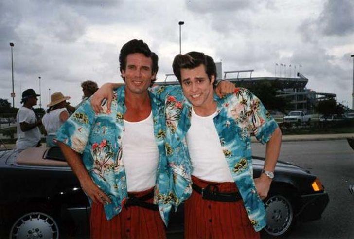 Jim Carrey and Tom Deakman