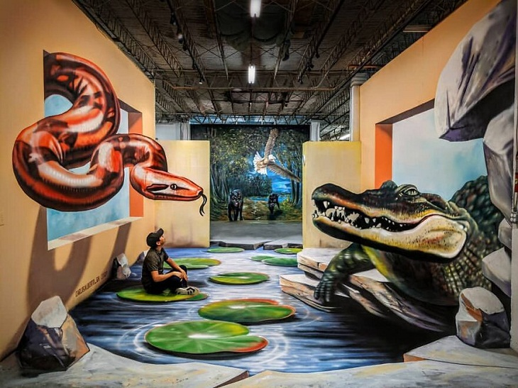 Snake 3D Art by Carlos Alberto GH