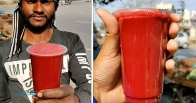 Watch 'Khooni Juice' sold on Indian streets; viral video
