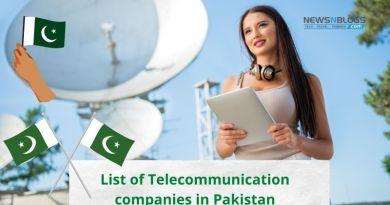 Telecommunication companies in Pakistan