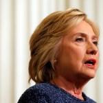 【クリントンさん・肺炎の診断】米カリフォルニア州での遊説中止