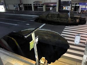 博多駅前陥没事故