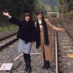 【画像】観光名所化・悪影響!早見優と松本伊代が侵入した線路