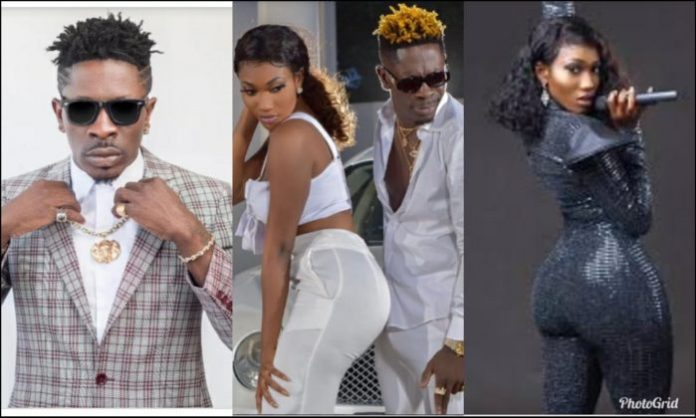 Shatta Wale And wendy shay