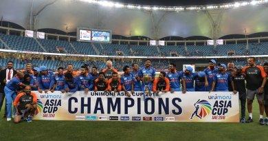 एशिया कप 2018 के फाइनल में भारत ने बांग्लादेश को 3 विकेट से हराया।