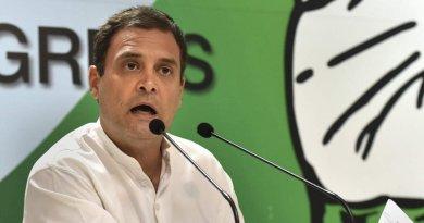 कांग्रेस अध्क्ष राहुल गांधी