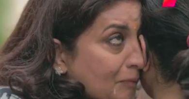 केंद्रीय मंत्री स्मृति ईरानी का रोने का वीडियो वायरल
