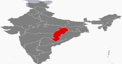 कांग्रेस द्वार पोस्ट नक्शे में कश्मीर नहीं