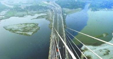 दिल्ली में यमुना नदी पर बना सिग्नेचर ब्रिज