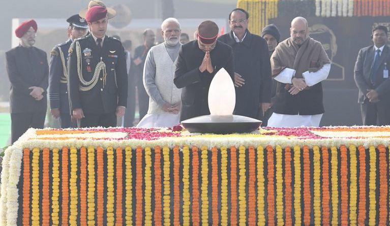 अटल बिहारी वाजपेयी की 94वीं जयंती पर उनके स्मारक 'सदैव अटल' को राष्ट्र के नाम समर्पित किया गया।