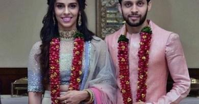 बैडमिंटन खिलाड़ी साइना नेहवाल ने पी. कश्यप से शादी कर ली है। दोनों बैडमिंटन प्लेयर्स ने कोर्ट में शादी की।