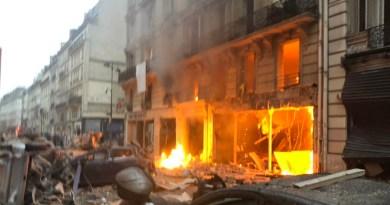 फ्रांस की राजधानी पेरिस में धमाका
