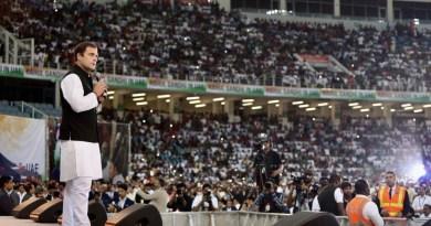 दुबई में कांग्रेस अध्यक्ष राहुल गांधी