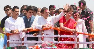 प्रियंका गांधी के पति रॉबर्ट वाड्रा ने कहा कि प्रियंका चुनाव लड़ने को तैयार हैं। उन्हें बस पार्टी की हां का इंतजार है।