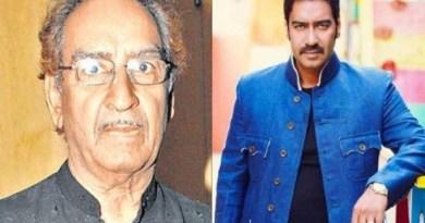 अभिनेता अजय देवगन के पिता और स्टंट मास्टर वीरू देवगन का मुंबई में निधन हो गया है। वीरू देवगन एक प्रसिद्द स्टंट मास्टर थे।