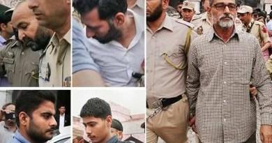 पठानकोट अदालत ने सनजी राम, आनंद दत्ता, परवेश कुमार, दीपक खजुरिया, सुरेंद्र वर्मा और तिलक राज को दोषी करार दिया है। सातवें आरोपी विशाल को कोर्ट ने बरी कर दिया है।