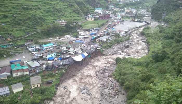 उत्तराखंड में भारी बारिश से तबाही