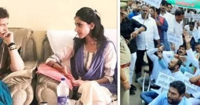 पार्टी लाइन के खिलाफ महात्मा गांधी की 150वीं जयंती पर यूपी विधानसभा के विशेष सत्र में शामिल होने पर कांग्रेस ने अदिति सिंह को नोटिस जारी किया है।