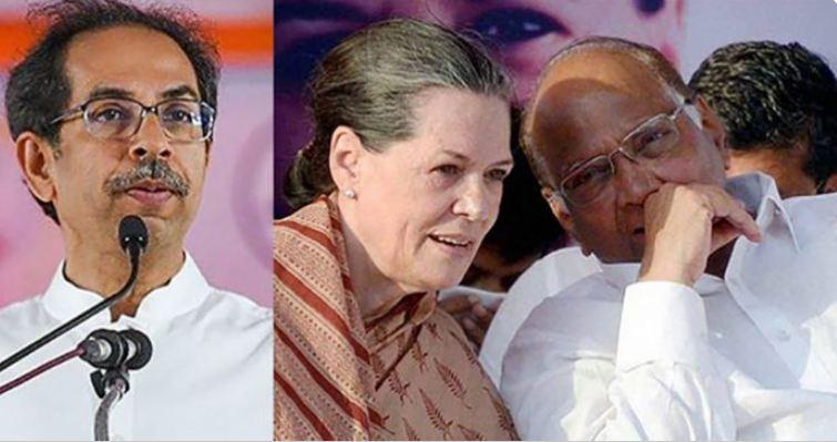 महाराष्ट्र में सरकार बनाने की डील फाइनल हो गई है। शिवसेना को एनसीपी और कांग्रेस समर्थन देंगे। दोनों पार्टियों के समर्थन से शिवसेना सरकार बनाएगी।