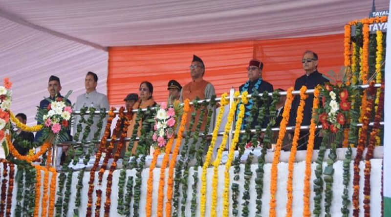 उत्तराखंड में धूमधाम से 71वां गणतंत्र दिवस मनाया गया। इस मौके पर राजधानी देहरादून के परेड ग्राउंड पर मुख्य समारोह आयोजित किया गया।