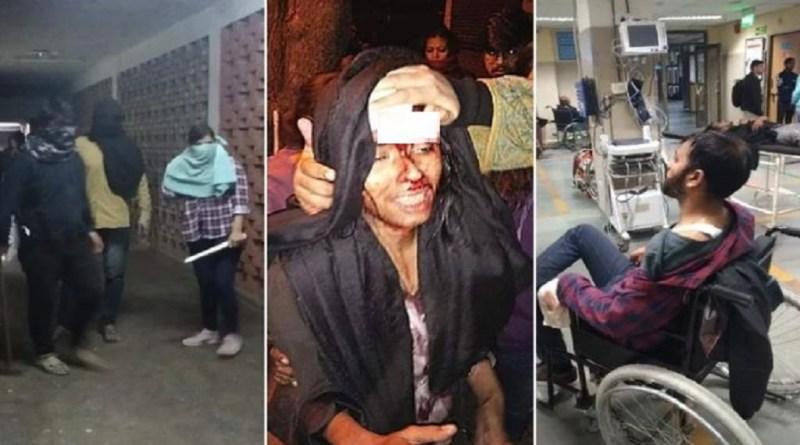 दिल्ली के जवाहरलाल नेहरू विश्वविद्यालय में बड़ा बवाल हुए है। कैंपस में घुसकर छात्रों से मारपीट की गई है।