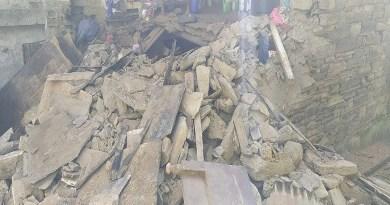 उत्तराखंड के अल्मोड़ा के एनटीडी में दर्दनाक हादसा हुआ है। यहां पर एक मकान भरभराकर गिर गया।