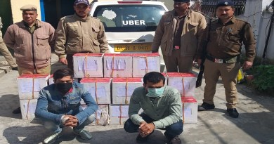 उत्तराखंड की अल्मोड़ा पुलिस ने नशे के सौदागरों के खिलाफ दो जगहों पर बड़ी कार्रवाई की है। पुलिस ने करीब साढ़े चार लाख रुपये की अवैध शराब जब्त की है।