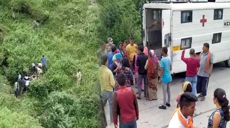 चमोली में दर्दनाक सड़क हादसा: गहरी खाई में गिरी तेज रफ्तार कार, दो बच्चे समेत 4 लोग थे सवार