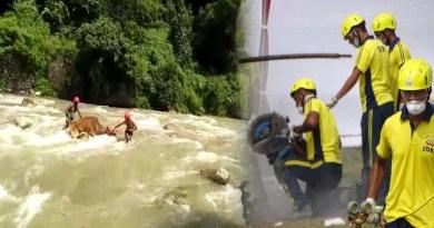 वीडियो: गौ मां की रक्षक बनी उत्तराखंड SDRF, जान की परवाह किए बिना उफनती नदी से ऐसे बचाई जान