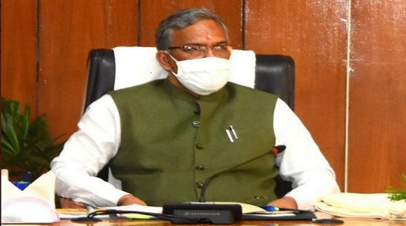 मुख्यमंत्री त्रिवेंद्र सिंह रावत ने गुरुवार को अल्मोड़ा के विकास योजनाओं की समीक्षा की। वीडियो कांफ्रेसिंग के जरिये सीएम रावत अधिकारियों से मुखातिब हुए।