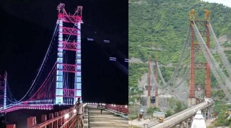 अच्छी खबर! डोबरा-चांठी पुल की वायर टेस्टिंग का काम शुरू, जल्द शुरू होगी वाहनों की आवाजाही