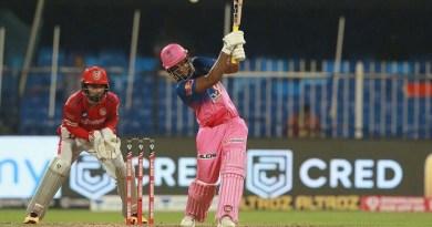 IPL 2020: पंजाब पर भारी पड़ी तेवतिया की तूफानी पारी, राजस्थान ने 4 विकेट से जीता मैच