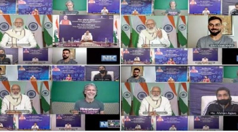 प्रधानमंत्री नरेंद्र मोदी के फिट इंडिया मूवमेंट को आज एक साल पूरा हो गया है।