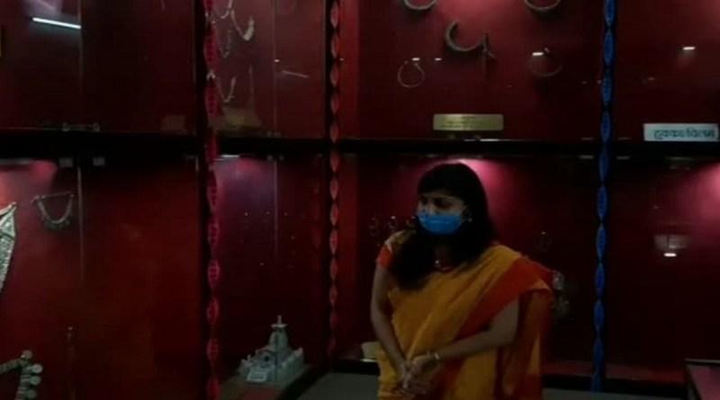 चमोली की डीएम स्वाति एस भदौरिया ने कलेक्ट्रेट परिसर में पहाड़ी संग्रहालय का पीजी कॉलेज गोपेश्वर की छात्राओं से फीता काटकर संग्रहालय का शुभारंभ करवाया।