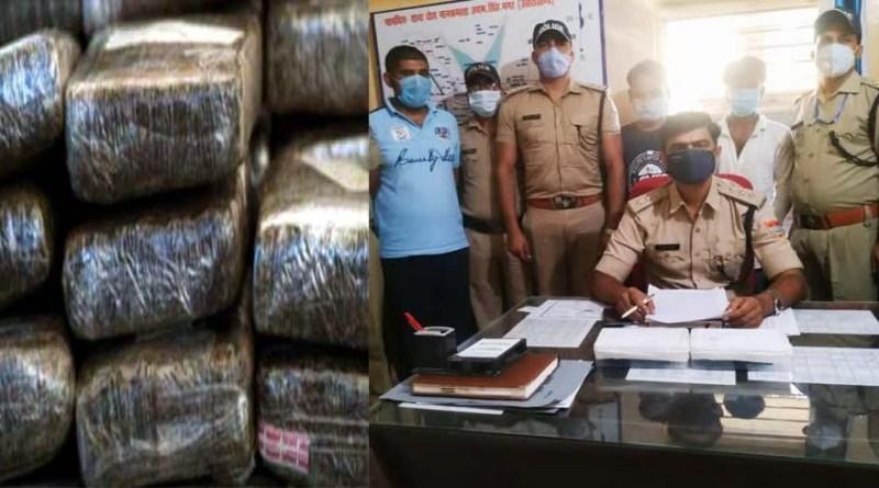 खटीमा पुलिस को मिली बड़ी सफलता, चेकिंग के दौरान नशे के सौदागर चढ़े हत्थे, एक किलो चरस बरामद