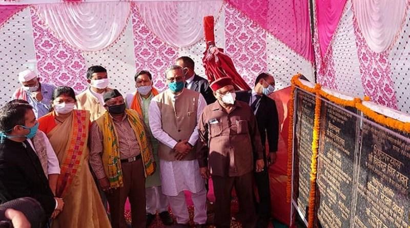 बागेश्वर दौरे पर पहुंचे मुख्यमंत्री त्रिवेंद्र सिंह रावत जिले को बड़ी सौगात दी है। उन्होंने 1 अरब 11 करोड़ 87 लाख रुपये के विकास कार्यों का लोकापर्ण और शिलान्यास किया।