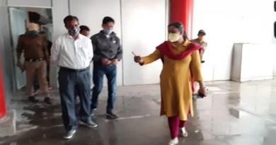 टिहरी गढ़वाल की डीएम ईवा आशीष श्रीवास्तव ने शुक्रवार को नई टिहरी के बौराड़ी में अंतरराज्यीय बस अड्डे का निरीक्षण किया।