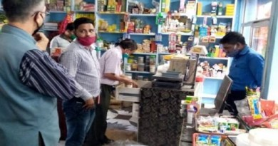 उत्तराखंड के बागेश्वर के नदीगांव कस्बे में प्रशासन ने पॉलीथिन के हो रहे इस्तेमाल पर कार्रवाई की है। सोमवार को तीन दुकानों से करीब पांच किलो पालीथिन जब्त की गई।