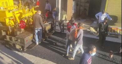 अल्मोड़ा की बदहाल पड़ी सड़कों को चमकाने का काम शुरू, खिल उठे स्थानीय लोगों के चेहरे