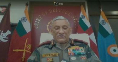 देश चीफ ऑफ डिफेंस स्टाफ (सीडीएस) जनरल बिपिन रावत ने कहा कि समान विचारधारा वाले साझेदारों को भारत-प्रशांत क्षेत्र में अपना आधिपत्य स्थापित करने के लिए चीन के प्रयासों के खिलाफ अवरोध बनाने की जरूरत है।