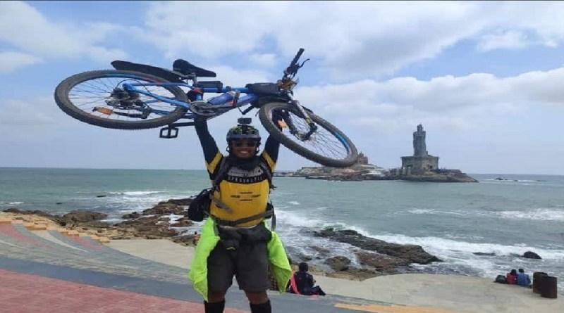 चमोली के सोमेश ने रचा इतिहास! साइकिल से पूरा किया बदरीनाथ से कन्याकुमारी तक का सफर, पूरा देश कर रहा सलाम