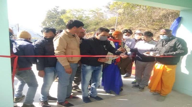 श्रीनगर में विधायक कण्डारी ने रेंजर कार्यालय का उद्घाटन किया। कार्यालय को 22 लाख रुपये की लागत से बनाया गया है।