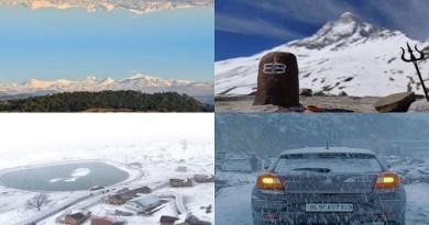उत्तराखंड के पहाड़ी इलाकों में भी जबरदस्त स्नोफॉल के बाद पूरी इलाका बर्फ की चादर से ढक गया है।