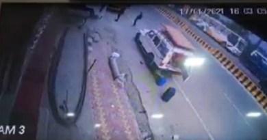 नैनीताल में दर्दनाक सड़क हादसा! रोड पार कर रहे व्यक्ति को तेज रफ्तार कार ने रौंदा, CCTV कैमरे में कैद हुई घटना