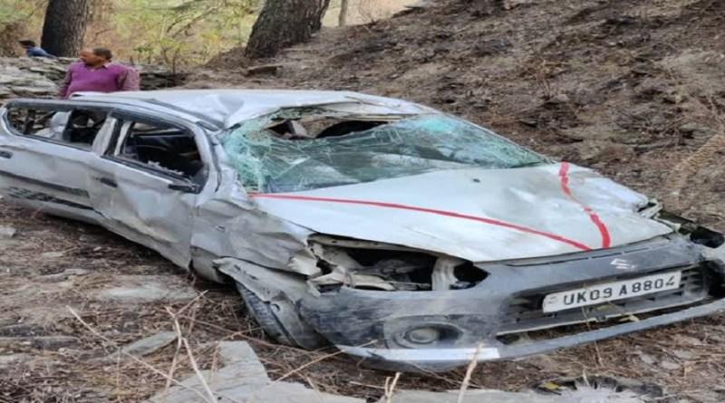 उत्तराखंड: बेकाबू होकर खाई में गिरी कार, दंपति की दर्दनाक मौत, परिवार में पसरा मातम