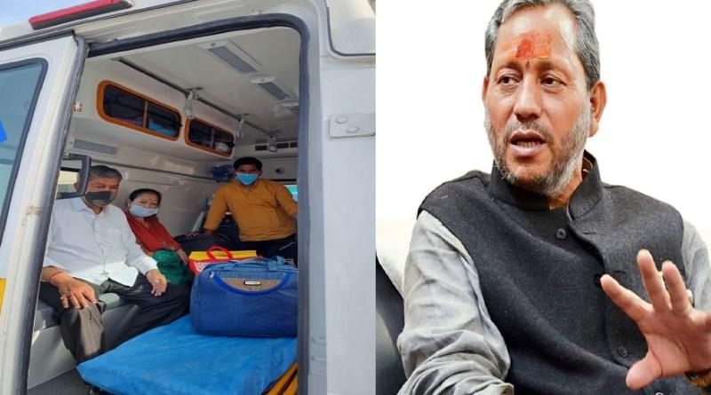 उत्तराखंड के CM तीरथ सिंह रावत ने की पूर्व CM हरीश रावत के जल्द स्वस्थ होने की कामना
