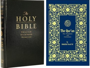 bible and quran
