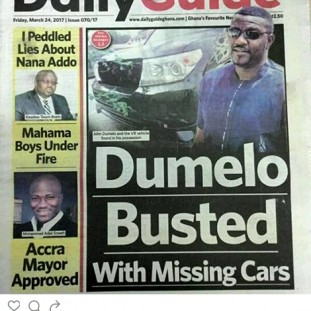 dumelo theft