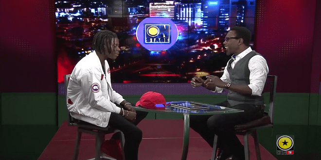 Stonebwoy Brags In Jamaica