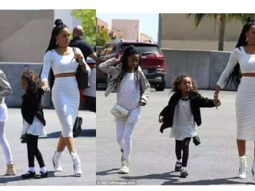 Mel B Steps Out With Her Daughters